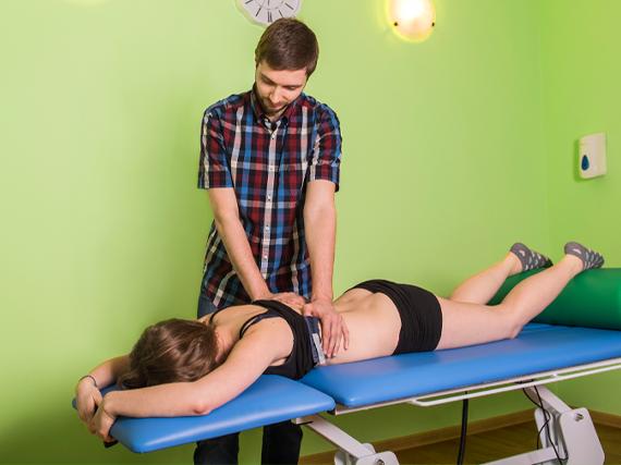 Masaż kręgosłupa, leczenie dyskopatii